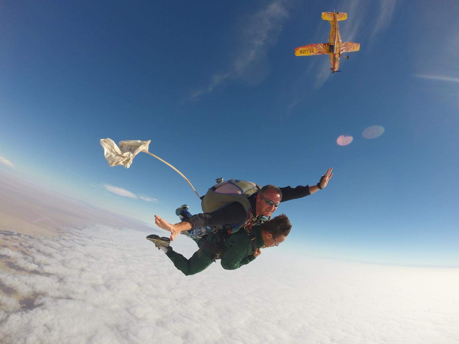 Ground Rush Adventures - Skydive in swakopmund today